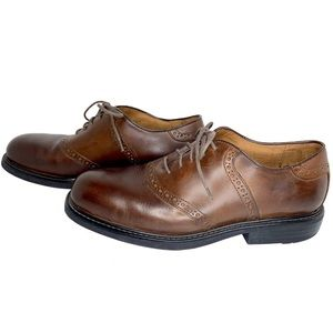 Florsheim Brown Leather Oxford Dress Shoes
